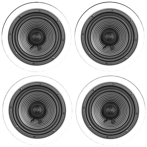 """ArchiTech Premium X-4BULK 6.5"""" Ceiling Speaker, 80W, 4/Pack"""