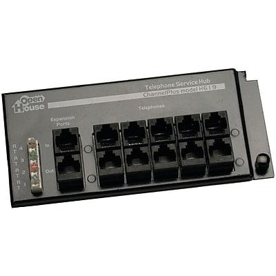 Open House® RJ45 Telephone Interface Hub, 4 x 12