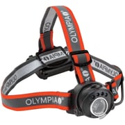 "Olympia® Cree XP-C 100-Lumens LED Headlamp, Gray/Red, 2.1""H x 2.8""W x 1.7""D"