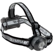"Olympia® 230-Lumens Luxeon Rebel White LED Headlamp, Gray/Red, 2.1""H x 2.9""W x 1.5""D"