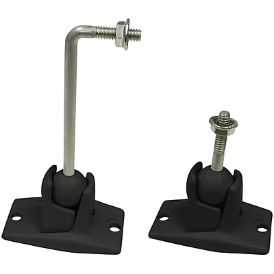 Omnimount® Universal Wall/Ceiling-Mount Kit For Satellite Speaker Upto 10 lbs., Black