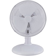 "Optimus 7"" Personal Table Fan, White"