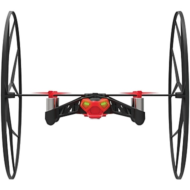 Parrot® MiniDrone Rolling Spider With Autopilot System, Red