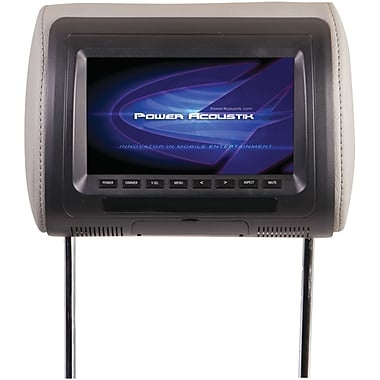 Power Acoustik Universal Headrest Monitor With IR Transmitter, 7
