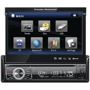 """Power Acoustik 7"""" Single-Din In-Dash Flip-Up Source Unit With Bluetooth 2.0 (POWPTID8920B)"""