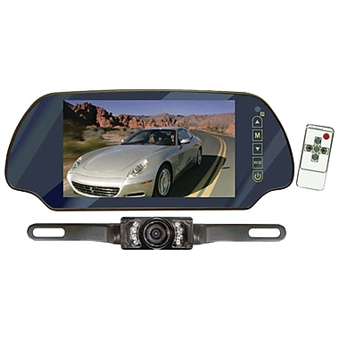 Pyle® PLCM7200 Backup Camera and Rearview Monitor Parking Assist System With 7