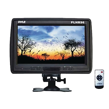 Pyle® TFT-LCD Cut-in Headrest Monitor With IR Transmitter/Stand/Shroud, 9