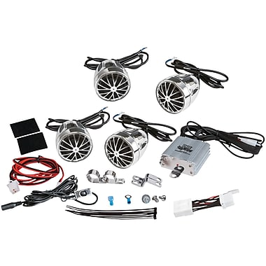 Pyle 800 W Weatherproof Speaker Kit For Motorcycle/ATV/Snowmobile