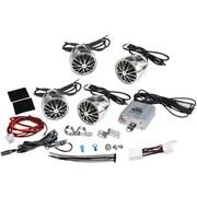 Pyle 800 W Weatherproof Speaker Kit For Motorcycle/ATV/Snowmobile