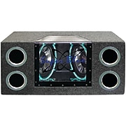 """Pyramid BNPS102 10"""" Dual-Bandpass Speaker System With Neon Accent Lighting"""