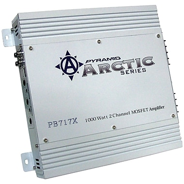 Pyramid Arctic Series Bridgeable Amplifier, 2 Channel, 1000 W