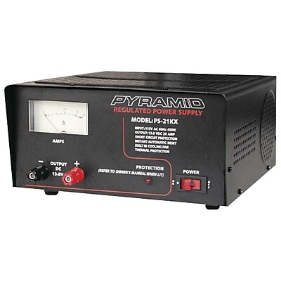 Pyramid 20 A/450 W AC Power Supply, Black