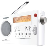 Sangean® PRD-7 FM/AM Compact Digital Tuning Portable Radio Receiver