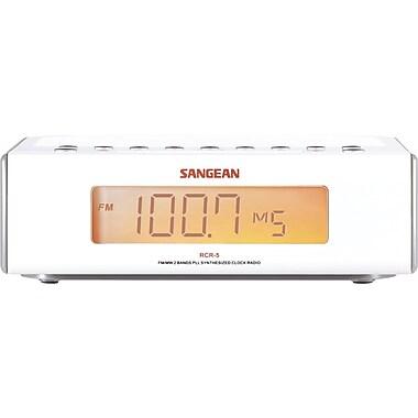 Sangean - Radio-réveil à syntonisation numérique RCR-5 AM/FM