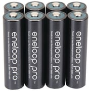 Panasonic Eneloop pro™ Ni-MH AAA Rechargeable Batteries, 8/Pack