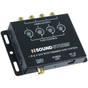 Sound Storm Video Signal Amplifier With 1 Input/4 Output (SSLSVA4)