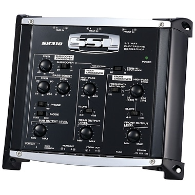SSL 2/3-Way Pre-Amplifier Electronic Crossover With Remote Subwoofer Control