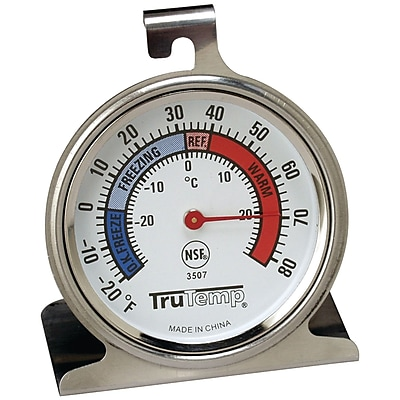 Taylor® TruTemp® Freezer/Refrigerator Thermometer
