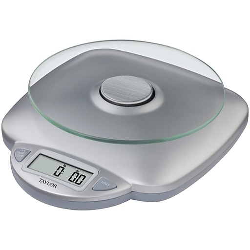 Taylor® 11 lbs. Glass Digital Kitchen Scale