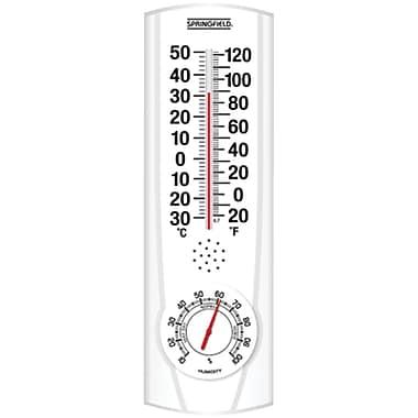 Springfield – Thermomètre intérieur/extérieur Plainview avec hygromètre (TAP90116)