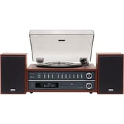 TEAC® 20 W Turntable Stereo System With CD/Bluetooth, Cherry