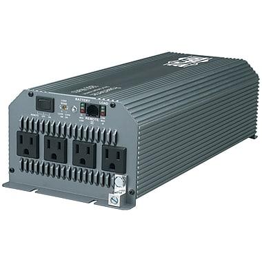 Tripp Lite® 1800 W PowerVerter Automotive/Truck Ultracompact Power Inverter, 4-Outlet, Gray (TRPPV1800HF )