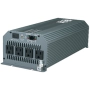 Tripp Lite® 1800 W PowerVerter Automotive/Truck Ultracompact Power Inverter, 4-Outlet, Gray