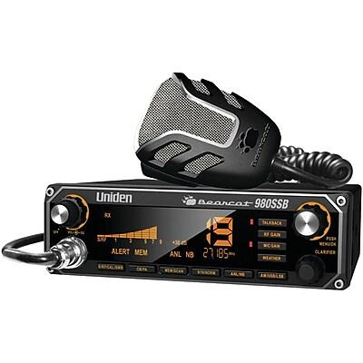 Uniden® CB Radio BEARCAT 980SSB with SSB USB/LSB, 40-Channel