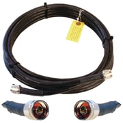 Wilson Electronics® WILSON400 Ultra-Low-Loss Coaxial Cable With N-Male Connectors, 20', Black