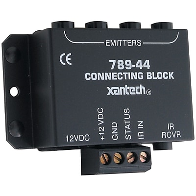 Xantech® One Zone Four Source Connecting Block