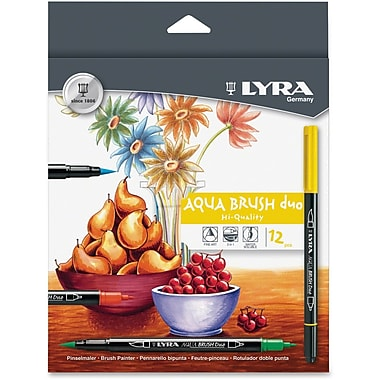 Dixon Lyra Aqua Brush Duo 12/Set