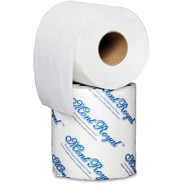 Metro Paper Mont Royal 1-Ply Eco Bathroom Tissue, 48/Carton