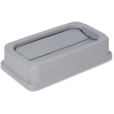 Genuine Joe 23-Gallon Wall Hugger Drop Shot Lid