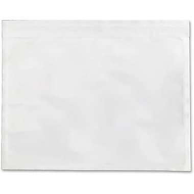 Sparco Envelopes Clear Packing List, Waterproof, 5-1/2