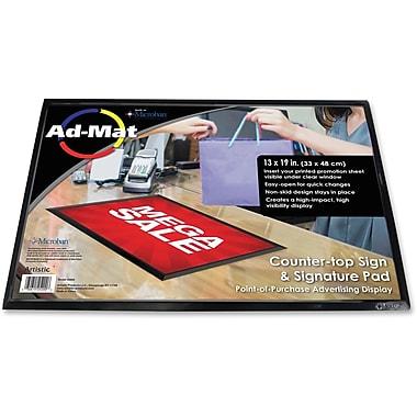 Artistic Ad-Mat Sign/Signature Pad, 13