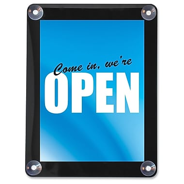 Deflect-O® Double-Sided Window Display Sign