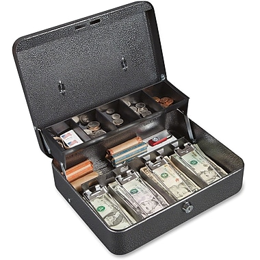 FireKing Stop Hinge Design Locking Cash Box
