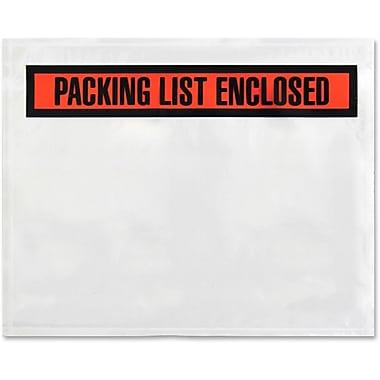 Sparco Envelopes Pre-Labeled Top-Print, Waterproof, 7