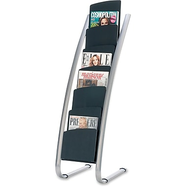 Alba 6-Pocket Vertical Literature Display Stand