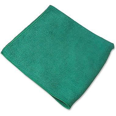Genuine Joe – Chiffon en microfibres, d'usage général, vert, paquet/12