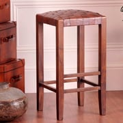 William Sheppee Studio 30'' Bar Stool; Medium Brown