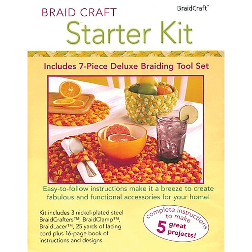 Braidcraft 30304 Multicolor Starter Kit