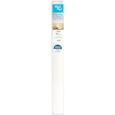 DMC LC0256-6222 White 14 Count Linen Aida Cloth