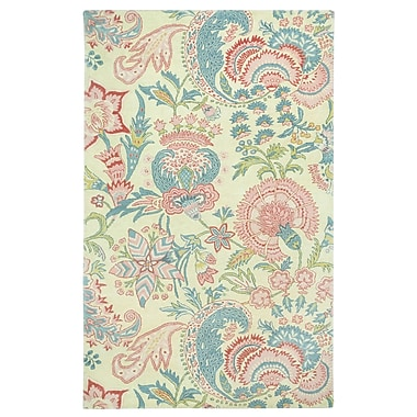 Capel Ceylon Beige Area Rug; Rectangle 5' x 8'