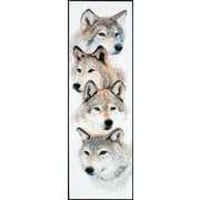 """Janlynn 13-0325 Multicolor 22"""" x 7"""" The Pack Counted Cross Stitch Kit"""
