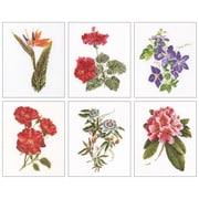 """Thea Gouverneur 8"""" x 6.75"""" Counted Cross Stitch Kit, 6/Set"""