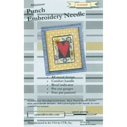 CTR CTR-NDL-6 Metal/Plastic 6-Strand Punch Embroidery Needle