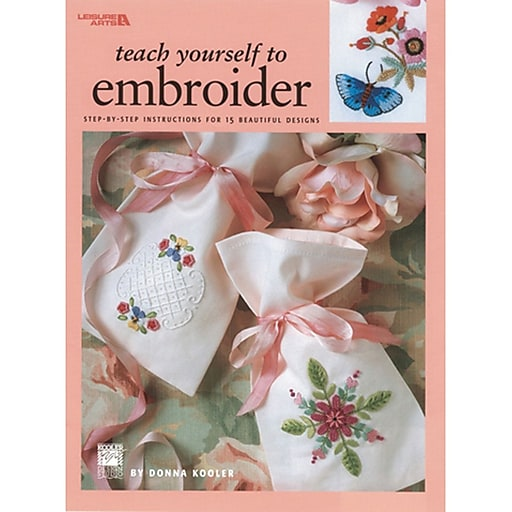 "Leisure Arts LA-1957 ""Teach Yourself To Embroider"" (LA-1957)"