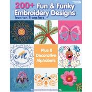 """Leisure Arts LA-4330 """"200+ Fun & Funky Embroidery Designs"""""""