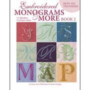 "Leisure Arts LA-4366 ""Embroidered Monograms & More 2"""